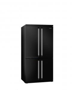 Smeg Victoria 4 Kapılı Buzdolabı Siyah FQ960N