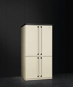 Smeg Victoria 4 Kapılı Buzdolabı Krem FQ960P