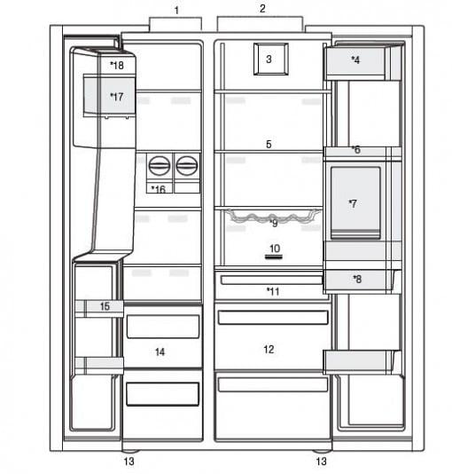 Smeg Victoria Gardrop Tipi Buzdolabı SBS963