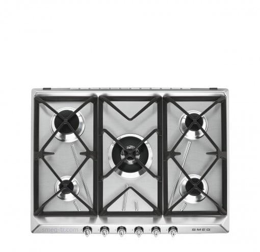 Smeg Victoria SR975XGH Çelik/Gümüş Gazlı Ocak