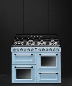 Smeg Victoria Kuzine TR4110AZ Pastel Mavi 110 cm.